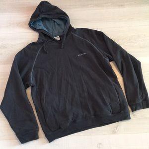 Columbia Men's gray sweatshirt hoodie